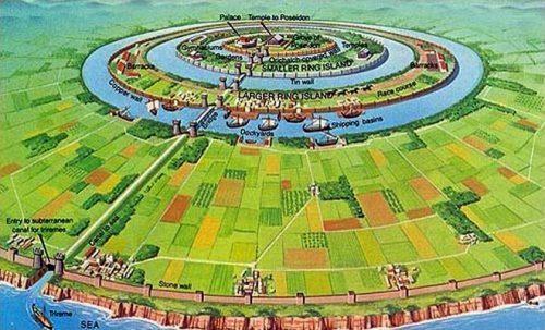 Столица государства Атлантида