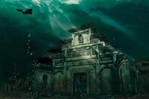 Затонувший материк Атлантида