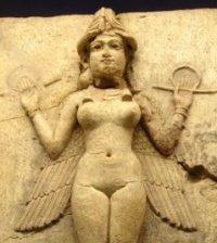 Богиня шумеров