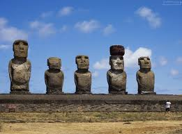 Каменные головы острова Пасхи