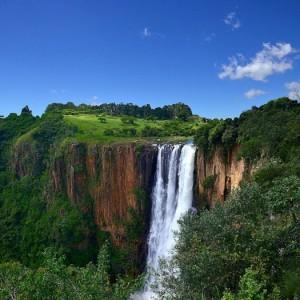 Загадочный водопад