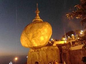 Золотой камень в Бирме