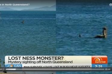 Австралийское лохнесское чудовище