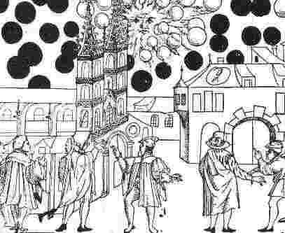 НЛО средние века