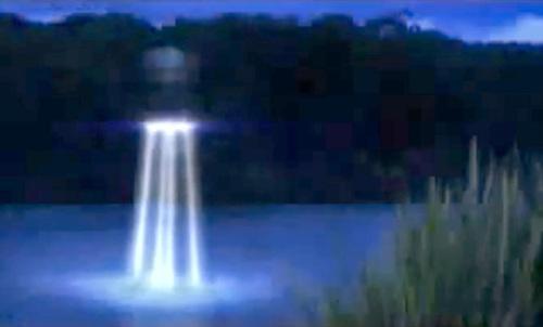 Неопознанные подводные объекты НЛО под водой