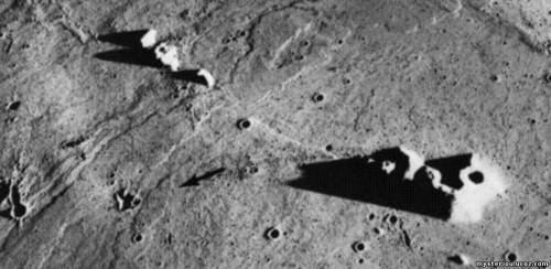 Фото пришельцев на Луне