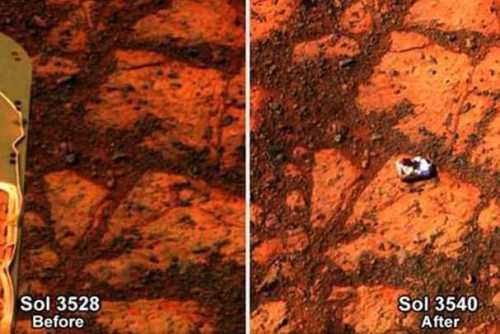 Странности на Марсе