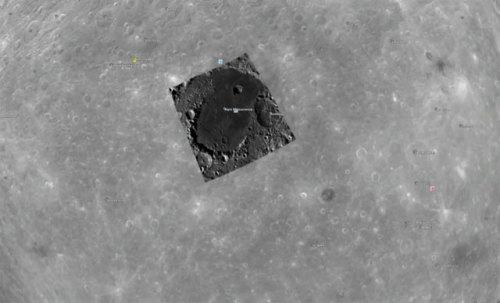 Лунная база инопланетян
