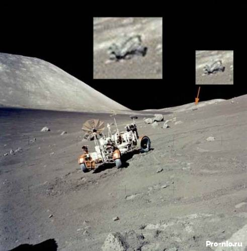 Аномалии на Луне