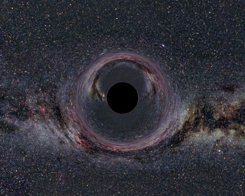 Massive Black Hole Has Surprisingly Weak Magnetic Field