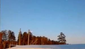 Загадочные объекты над Россией 2014