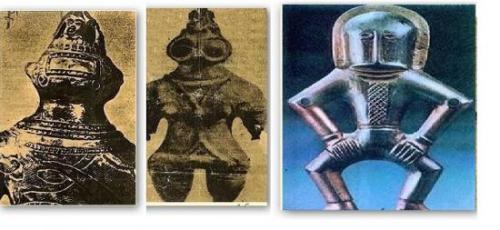 Статуэтки древних космонавтов