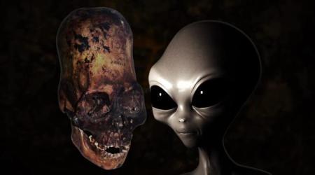 Посещение земли в древности инопланетянами