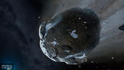 Огромный метеорит летит к Земле