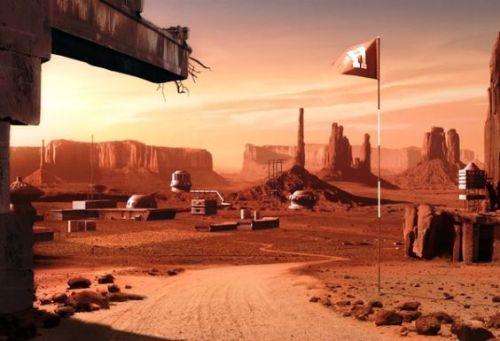 Американский военный служил на Марсе