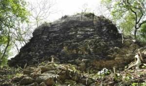Развалины древнего города майя