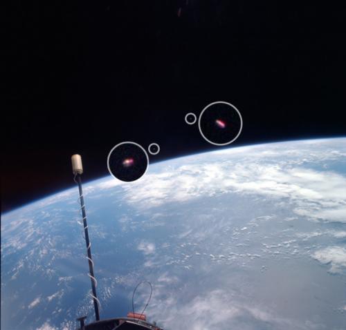 НЛО в космическом пространстве