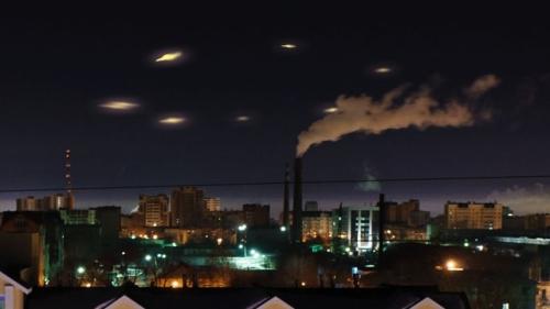 Загадочные объекты в небе