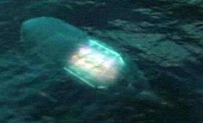 НЛО в глубинах океанов