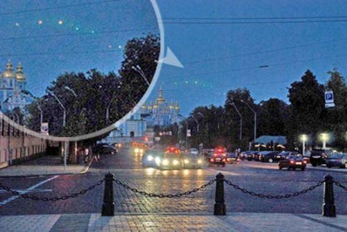 НЛО над Киевом фото