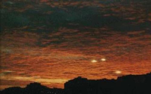 Наблюдения НЛО в Украине