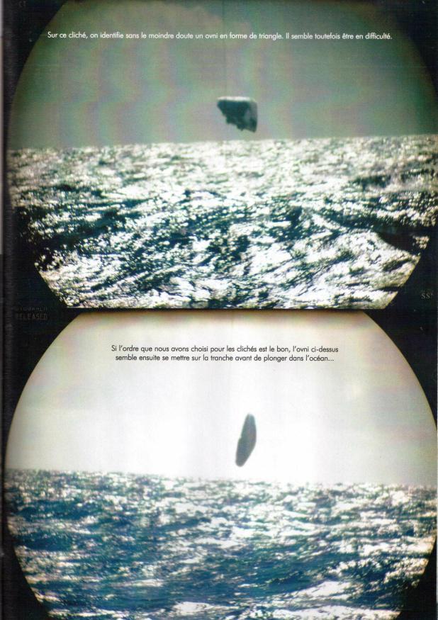 Треугольный НЛО в арктических водах