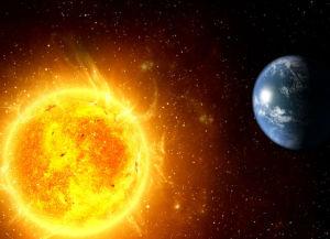 Соседство Земли и Солнца