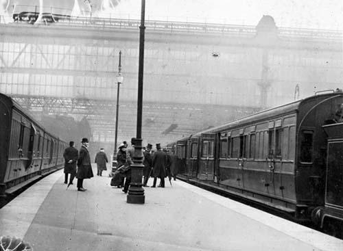 Случай 1912 года путешествия во времени