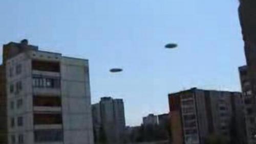 НЛО над одним из районов Волгограда