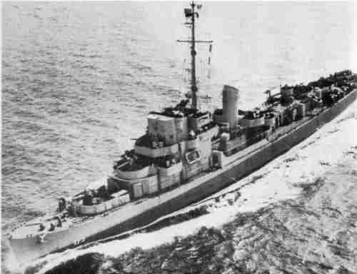 Эсминец DE-173