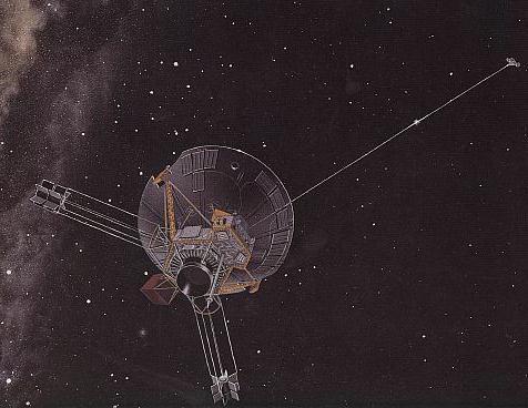"""Космический аппарат """"Пионер 10"""""""