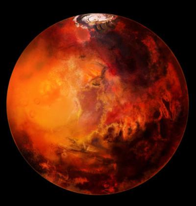 Следы жизни на Марсе