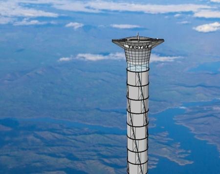 Космический лифт ThothX Tower