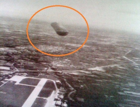 НЛО над футбольным полем 1954 год