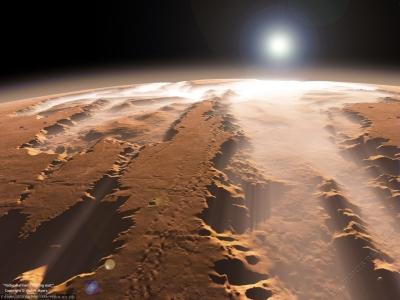 Найдена вода на Марсе