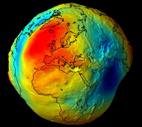 Реальная форма Земли