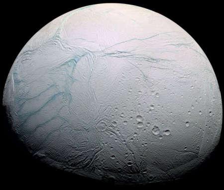 Спутник Сатурна - Энцелад