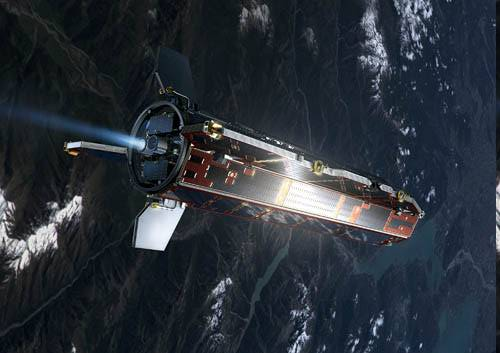 Исследовательский зонд GOCE