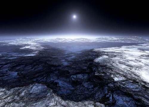 Ледники спутника Европа