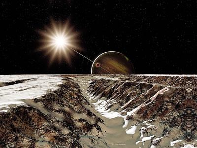 Ледяной спутник Европа