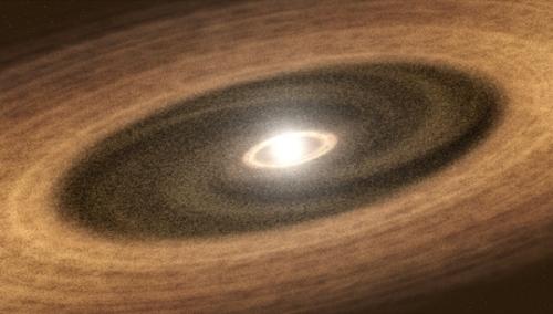 Рождение планеты LkCa 15b