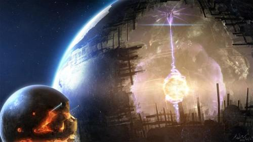 Гигантские сооружения инопланетян
