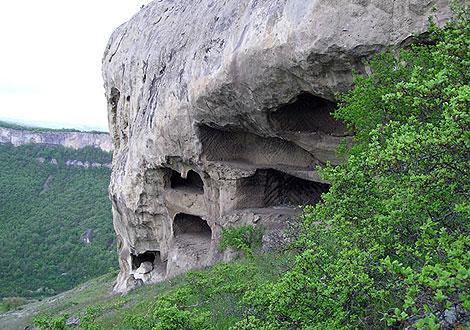 Древний город Тепе-Кермен