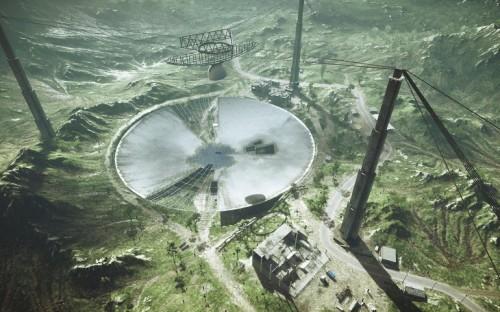 Китай строит огромный телескоп