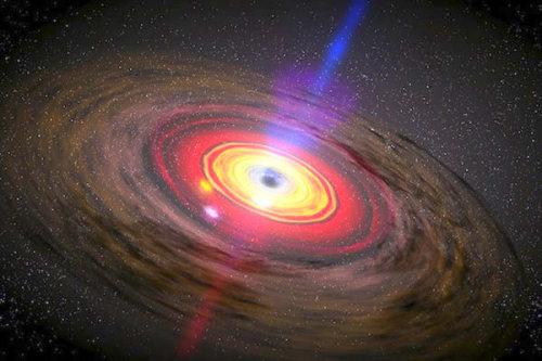 Черная дыра в пяти измерениях