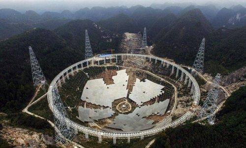 Телескоп в Гуйчжоу фото