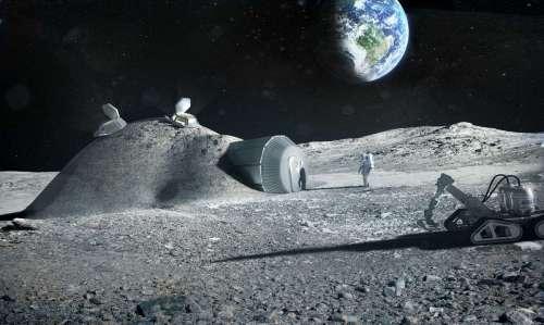 База землян на Луне