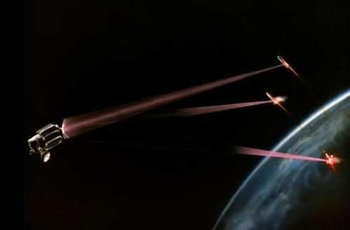 Лазер позволит спрятаться от пришельцев