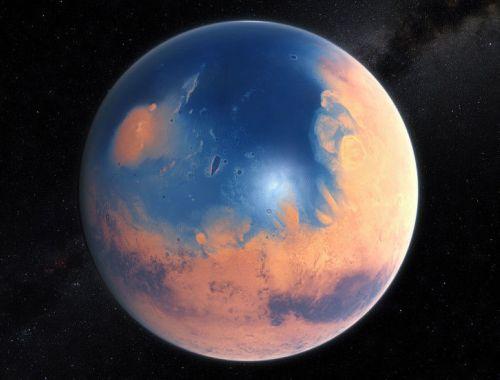 Океан на Марсе