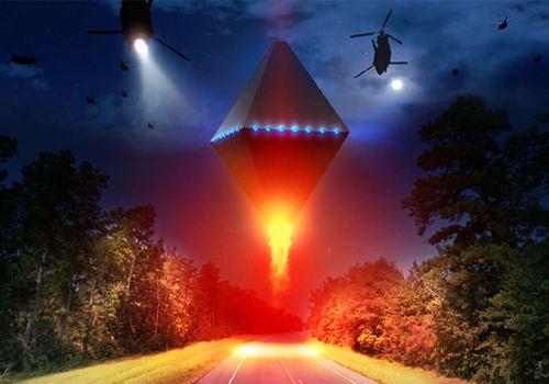 Появление НЛО в Рэндлшемском лесу